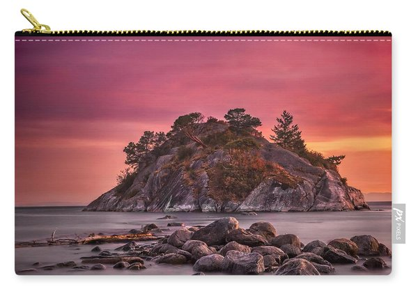 Whytecliff Island Sunset Carry-all Pouch