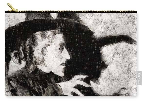 Wicked Witch, Wizard Of Oz Carry-all Pouch