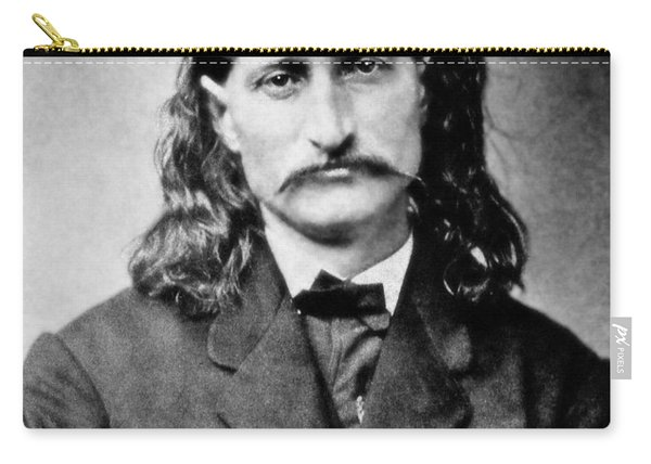 Wild Bill Hickok - American Gunfighter Legend Carry-all Pouch