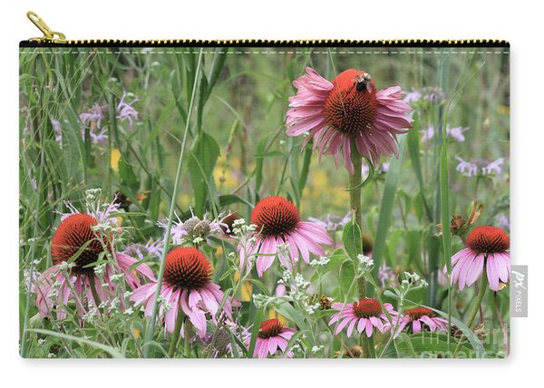 Wild Coneflowers Carry-all Pouch