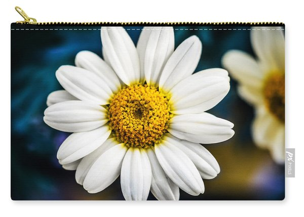 Carry-all Pouch featuring the photograph Wild Daisy by Nick Bywater