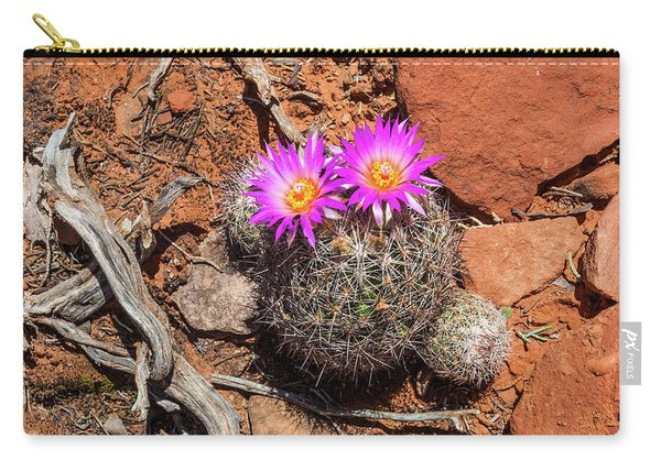 Wild Eyed Cactus Carry-all Pouch