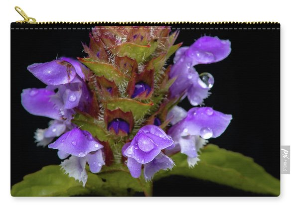 Wild Flower Portrait Carry-all Pouch