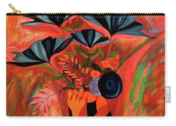 Wild Flowers  A Still Life  Carry-all Pouch