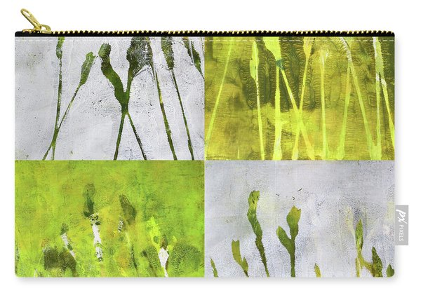 Wild Grass Collage 1 Carry-all Pouch