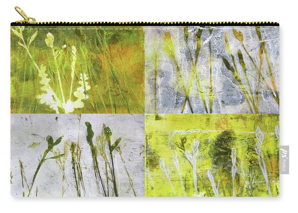 Wild Grass Collage 2 Carry-all Pouch