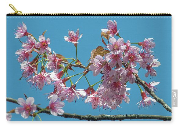 Wild Himalayan Cherry Dthn0220 Carry-all Pouch