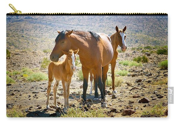 Wild Horse Family Carry-all Pouch