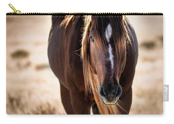 Wild Horse Watching Carry-all Pouch