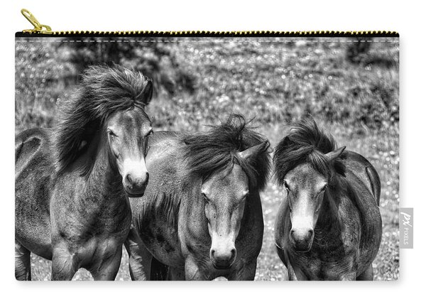 Wild Horses Bw1 Carry-all Pouch