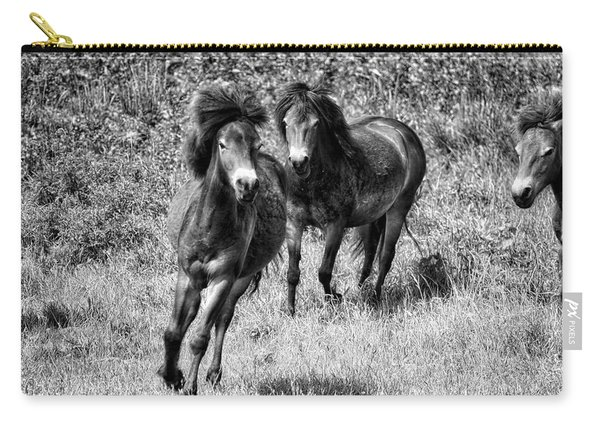 Wild Horses Bw4 Carry-all Pouch