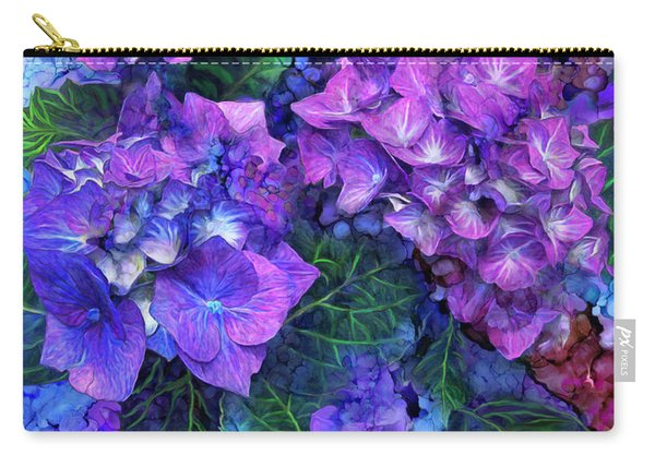 Wild Hydrangeas Carry-all Pouch