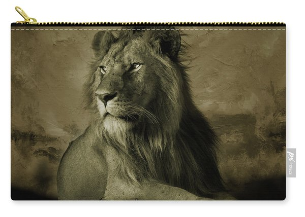 Wild Lion King  Carry-all Pouch
