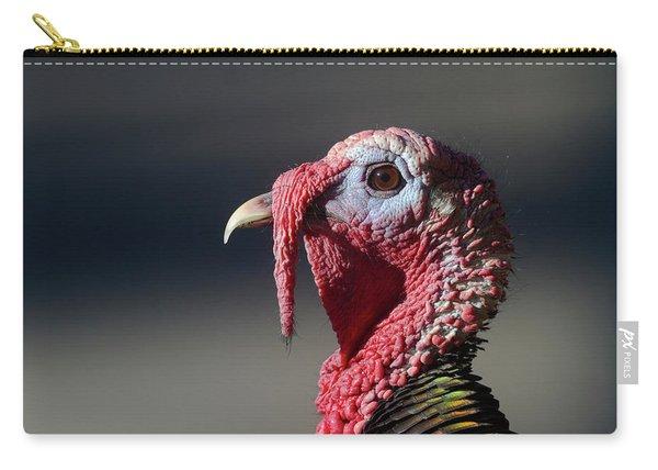 Wild Merriams Turkey Portrait  Carry-all Pouch