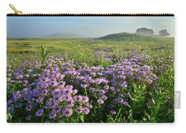 Wild Mints Galore In Glacial Park Carry-all Pouch