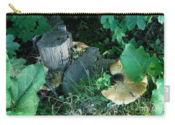 Wild Mushroom Carry-all Pouch