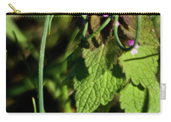 Wild Onion Framing Mint Carry-all Pouch