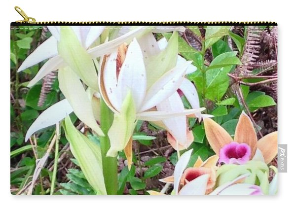 Wild Orchids In Pastel 2 Carry-all Pouch