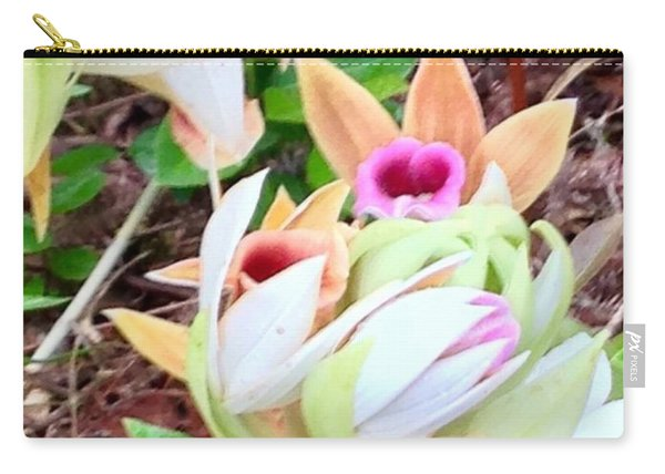 Wild Orchids In Pastel Carry-all Pouch
