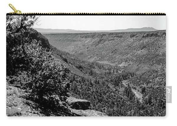 Carry-all Pouch featuring the photograph Wild Rivers by Jason Coward