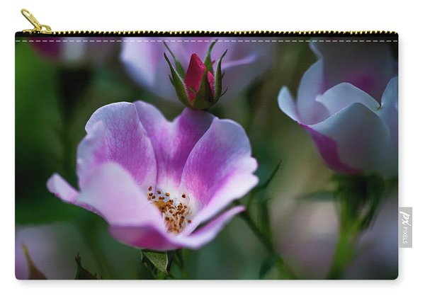 Wild Rose 7 Carry-all Pouch