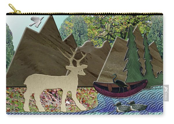 Wild Rural Animals Carry-all Pouch