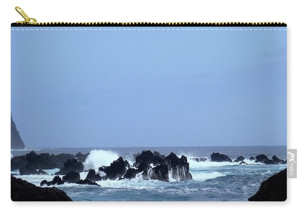 Wild Sea In Madeira Carry-all Pouch