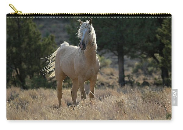 Wild Stallion Of The Steens Carry-all Pouch
