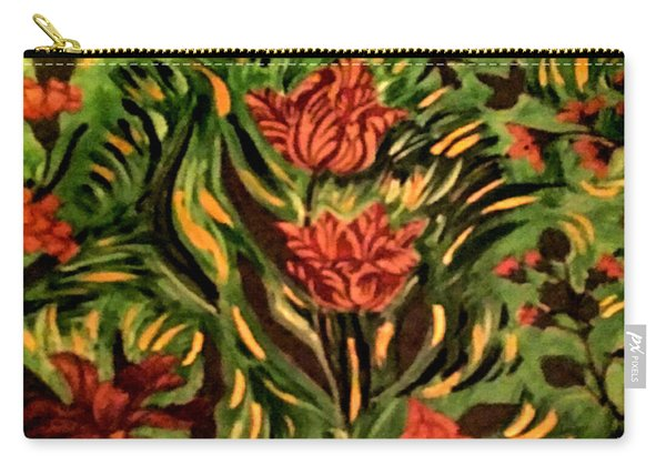 Wild Tulips Carry-all Pouch