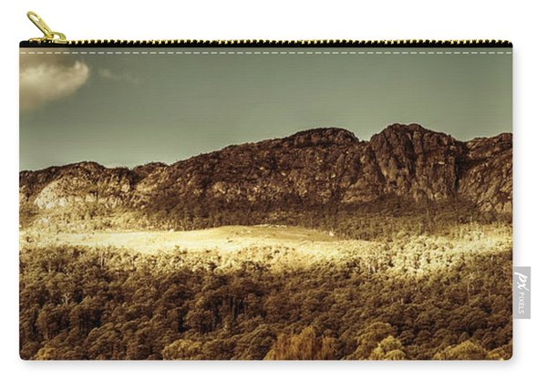 Wild West Mountain Panorama Carry-all Pouch
