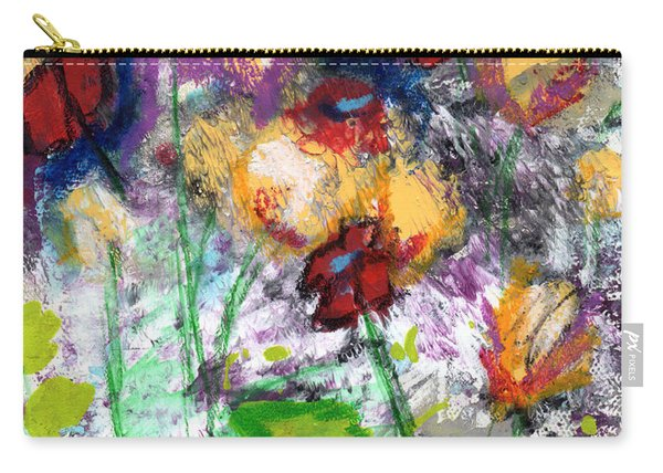 Wildest Flowers- Art By Linda Woods Carry-all Pouch