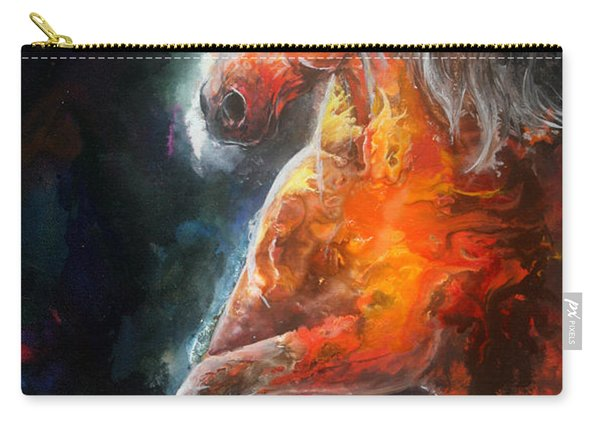 Wildfire Fire Horse Carry-all Pouch