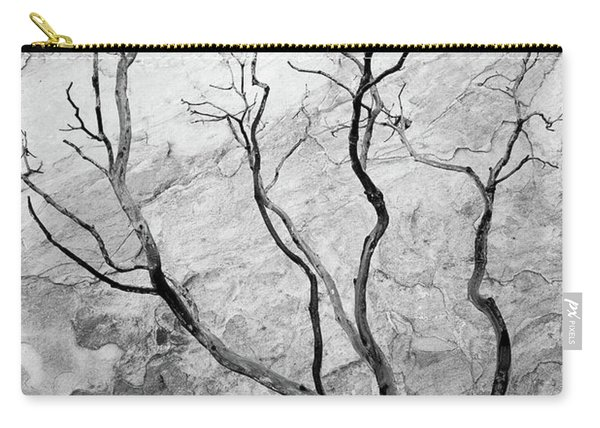 Carry-all Pouch featuring the photograph Wildfire Manzanita by Tim Newton
