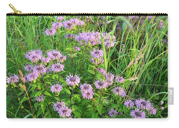 Wildflower Bouquet In Glacial Park Carry-all Pouch
