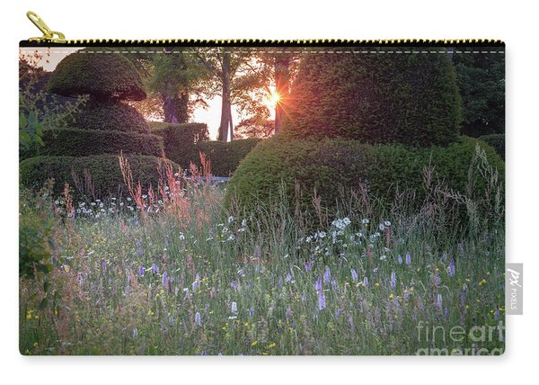 Wildflower Meadow At Sunset, Great Dixter Carry-all Pouch