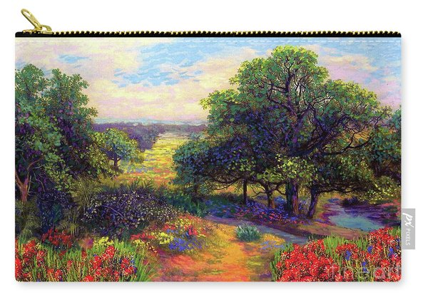 Wildflower Meadows Of Color And Joy Carry-all Pouch