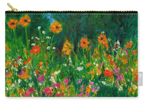Wildflower Rush Carry-all Pouch