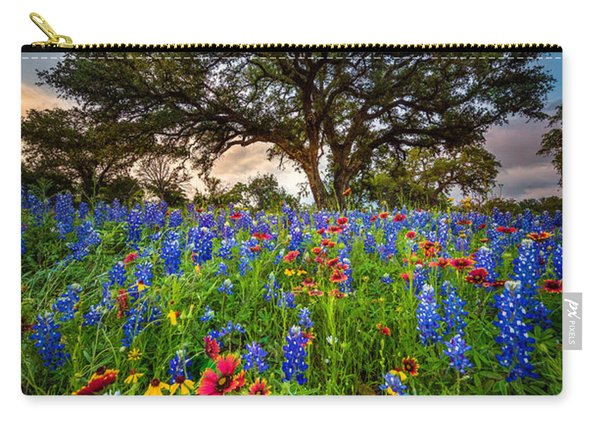 Wildflower Tree Carry-all Pouch