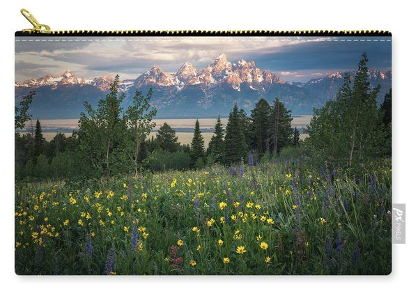 Wildflowers At Grand Teton National Park Carry-all Pouch