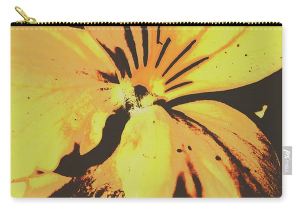 Wildflowers In Posterization Carry-all Pouch