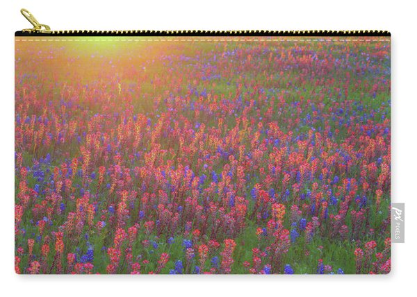 Wildflowers In Texas Carry-all Pouch