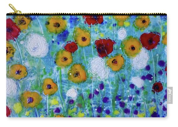 Wildflowers Never Fade Carry-all Pouch