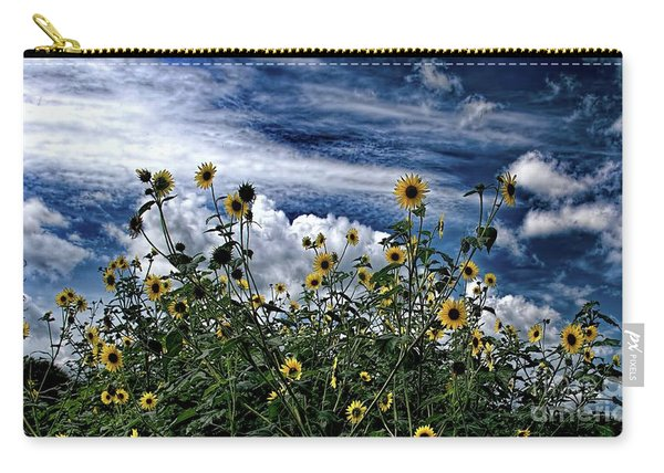 Wildflowers On The Brazos Carry-all Pouch