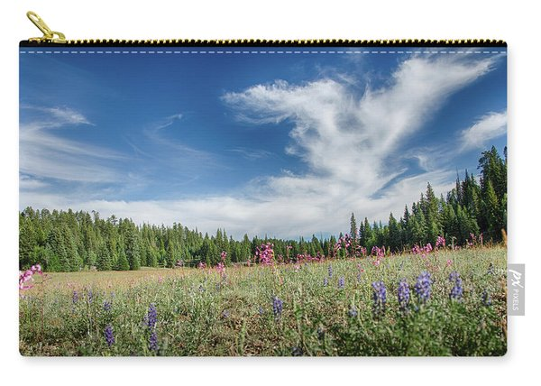 Wildflowers Reach For The Sky Carry-all Pouch