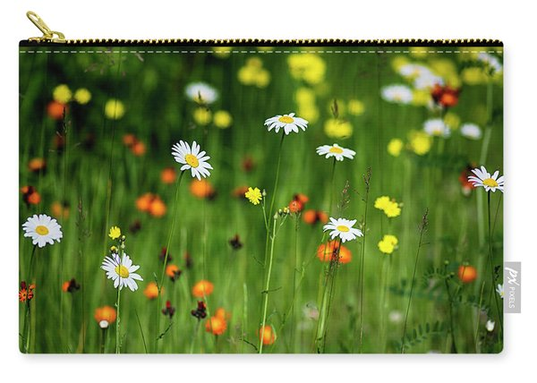 Wildflowers2 Carry-all Pouch