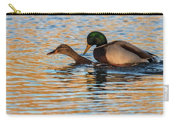 Wildlife Love Ducks  Carry-all Pouch