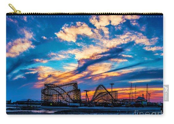 Wildwood Beach Sunset Carry-all Pouch