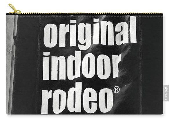 Will Rogers Rodeo Bw Carry-all Pouch