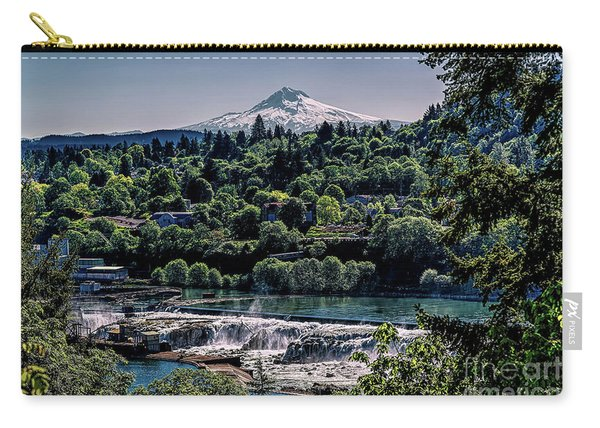 Willamette River Falls Locks Carry-all Pouch