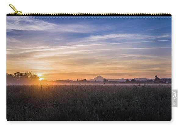 Willamette Valley Sunrise Carry-all Pouch
